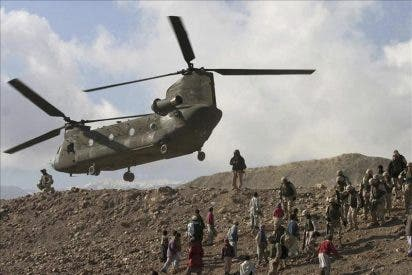 La ISAF investiga el siniestro del helicóptero con 38 muertos en Wardak