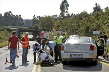Un muerto y un herido grave en un accidente en Culleredo