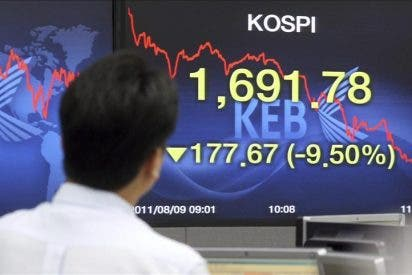 El índice Kospi sube 4,89 puntos, el 0,27 por ciento, hasta 1.806,24 puntos