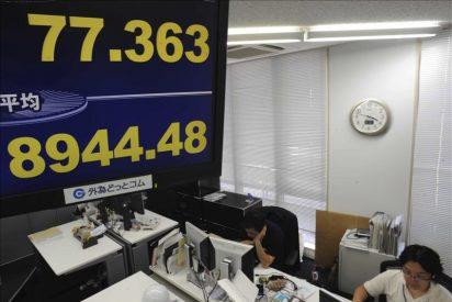 El Nikkei sube 94,26 puntos, el 1,05 por ciento, hasta 9.038,74 puntos