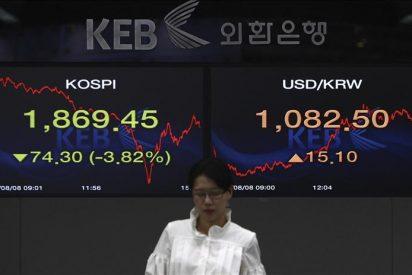 La Bolsa de Seúl pierde un 1,33 por ciento por la falta de buenas noticias
