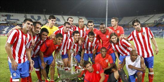 1-2. El Atlético de Madrid se lleva la carabela del Colombino