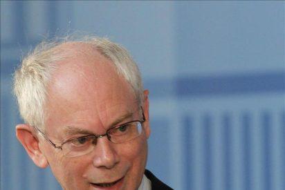 Van Rompuy saluda los rigurosos ajustes financieros de Italia