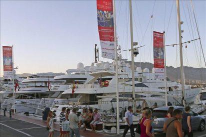 Los yates de lujo, a flote durante la crisis económica