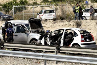 Diecinueve muertos en accidentes de tráfico durante el puente de agosto