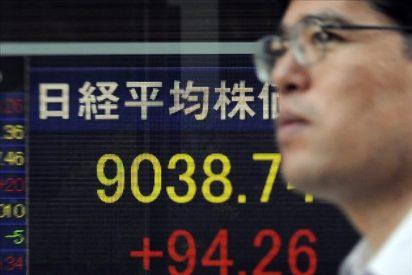 El Nikkei baja 50,17 puntos, el 0,55 por ciento, hasta 9.057,26 puntos