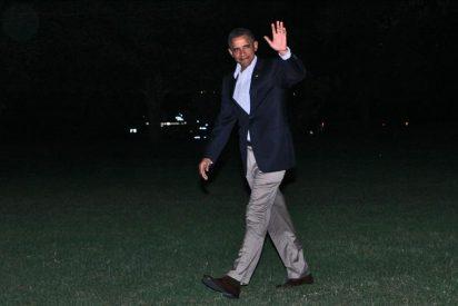 Obama inicia sus vacaciones en un lujoso enclave de Massachusetts