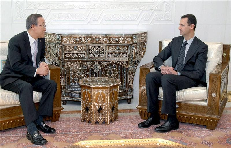 El presidente sirio asegura a Ban Ki-moon que ha detenido la represión