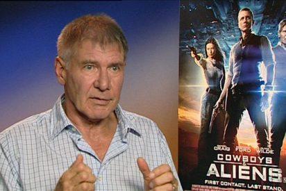 """Harrison Ford decepcionado por la falta de escenas arriesgadas en """"Cowboys and Aliens"""""""