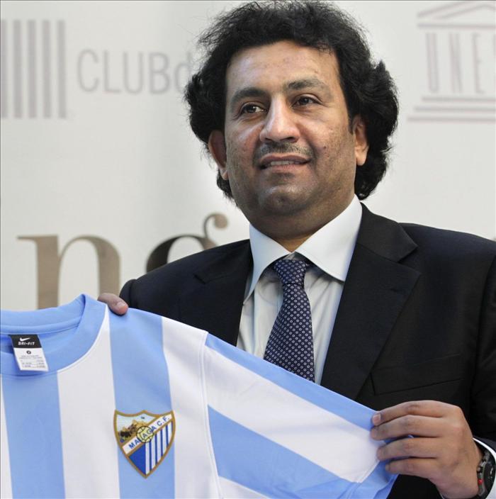 Al Thani asegura que el objetivo de la temporada es poner al Málaga en el mapa de los grandes clubes