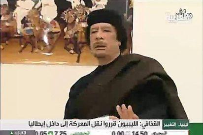 Sin rastro del tirano Gadafi