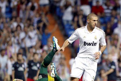 2-1. Benzema da el Trofeo Bernabéu en un ambiente poco efusivo