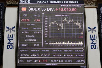 La bolsa española abre al alza y el IBEX sube el 1,21 por ciento