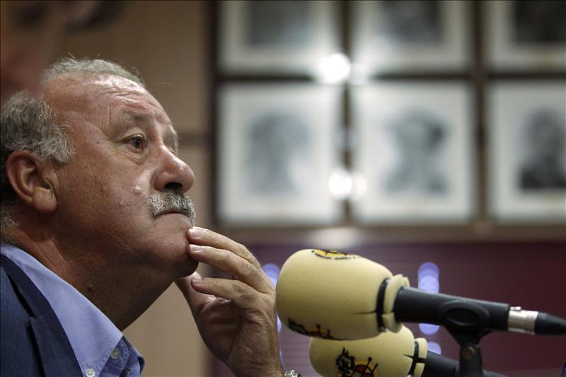 """Del Bosque asegura que está """"en desacuerdo con todo lo que sea agresividad"""""""