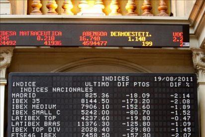 El IBEX opta por el descenso, 0,29 por ciento, y pierde los 8.300 puntos