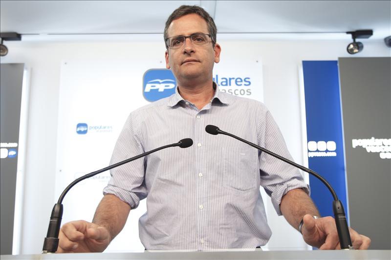 Basagoiti denuncia la irresponsabilidad del PNV al pedir la autodeterminación