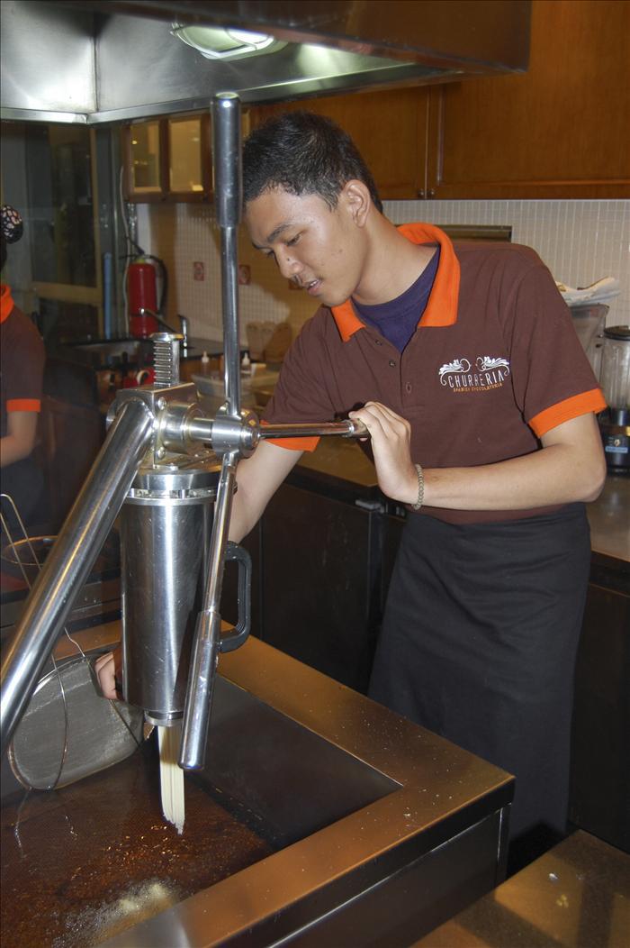 El churrero de Yakarta