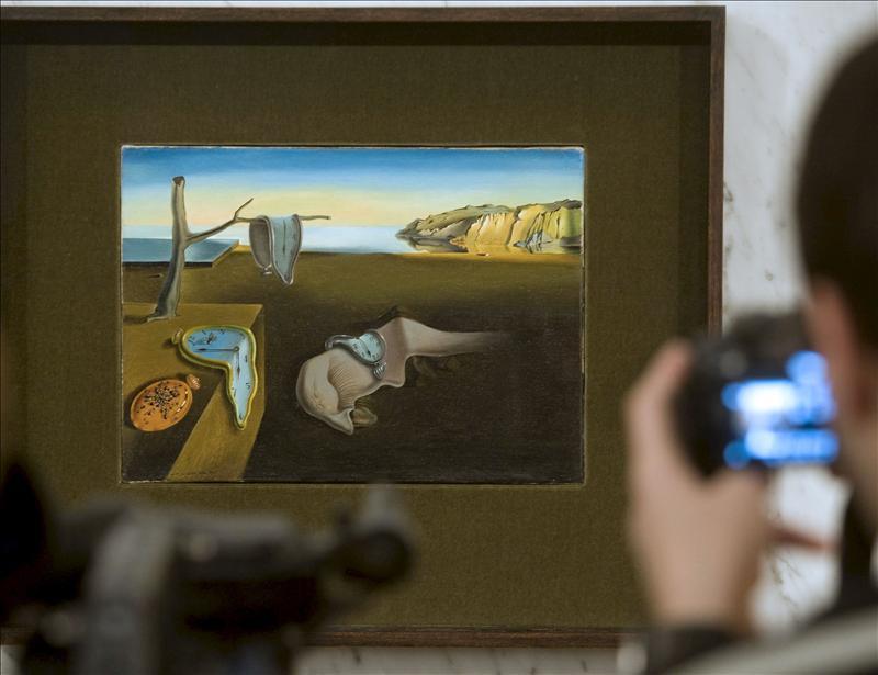 Dalí contra Mondrian en la primera obra de videoarte de la historia