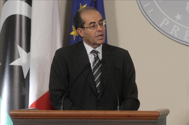 El presidente del CNT opina que Gadafi debe ser juzgado primero en Libia