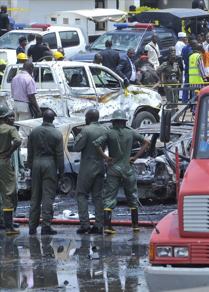 Al menos 3 muertos en la explosión en la sede de la ONU en Abuya