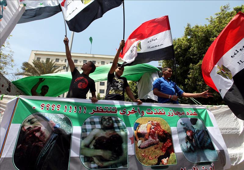 Al menos tres muertos por disparos contra diversas protestas de manifestantes en Siria