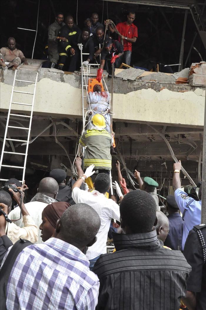 Al menos 9 muertos en la explosión en la sede de la ONU en Abuya
