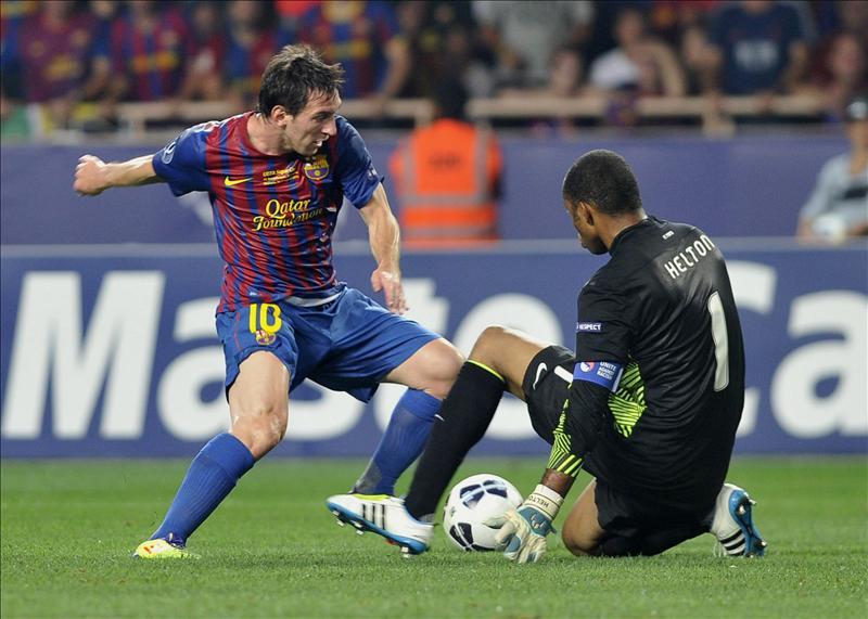 El Barcelona, campeón al ganar por 2-0 al Oporto en Mónaco
