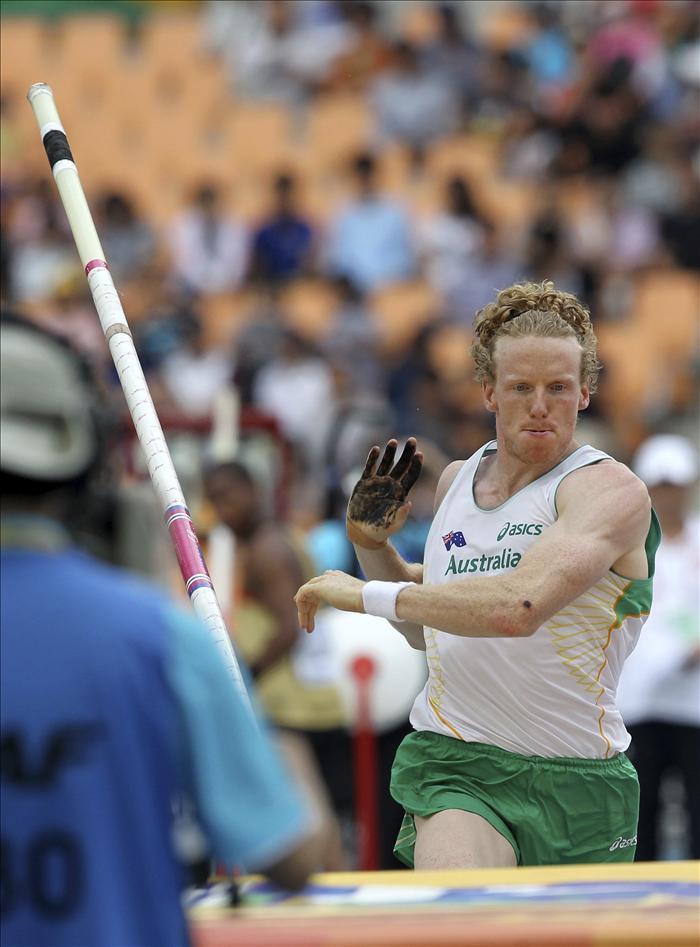 Hooker, campeón mundial y olímpico, eliminado en pértiga