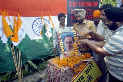 Ponen fecha a la ejecución de tres condenados por la muerte de Rajiv Gandhi