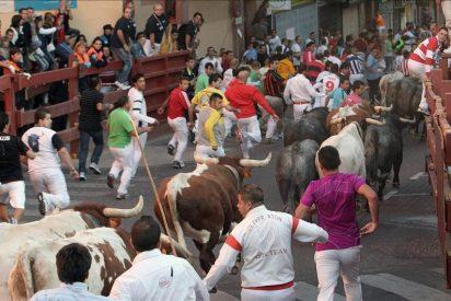 Once contusionados leves en el segundo encierro de San Sebastián de los Reyes