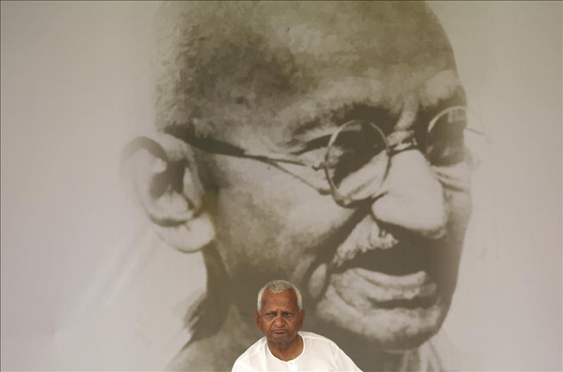 El Gobierno indio dispuesto a votar en el parlamento las exigencias de Hazare