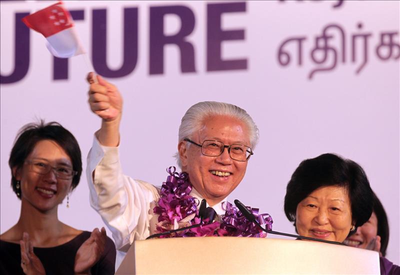El oficialista ex viceprimer ministro ganó las elecciones presidenciales de Singapur