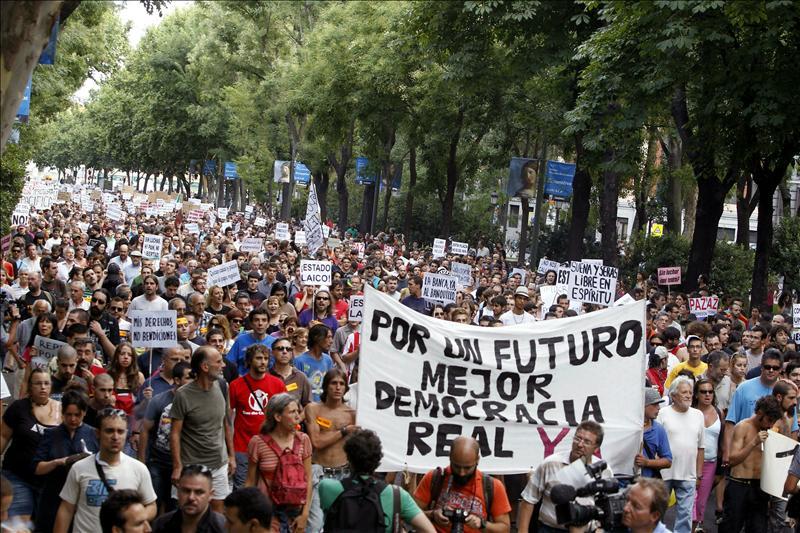 El 15-M convoca para hoy protestas contra la reforma constitucional