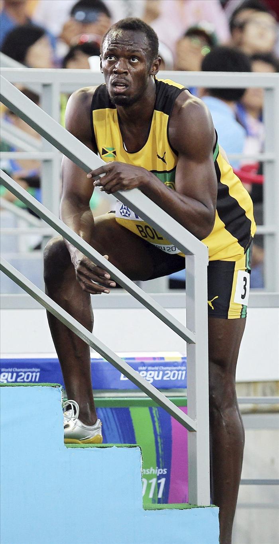 Bolt descalificado por salida falsa