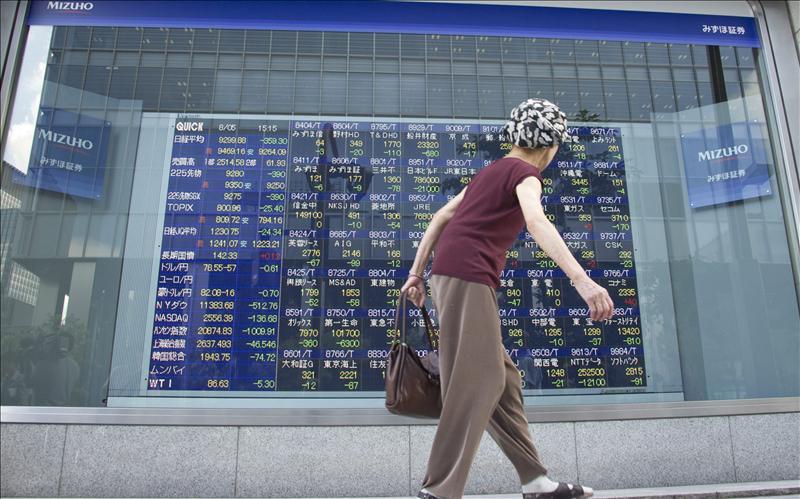 El índice Nikkei subió 4,47 puntos, el 0,05 por ciento, hasta 8.802,25 puntos