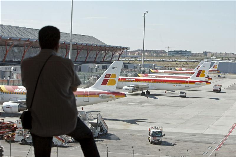 Iberia prevé reanudar hoy los vuelos a Nueva York