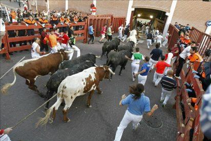Dos heridos por asta de toro en el cuarto encierro de San Sebastián de los Reyes