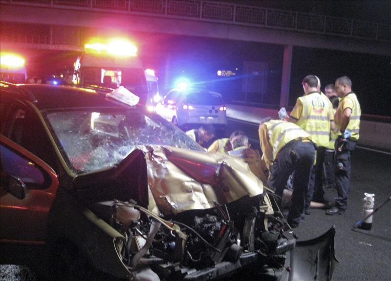 Quince muertos en las carreteras españolas durante el fin de semana