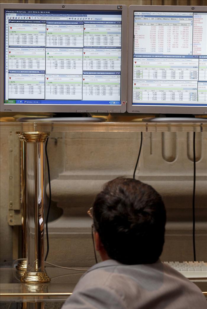 La Bolsa rebota española y el IBEX sube el 1,37 por ciento animado por Wall Street