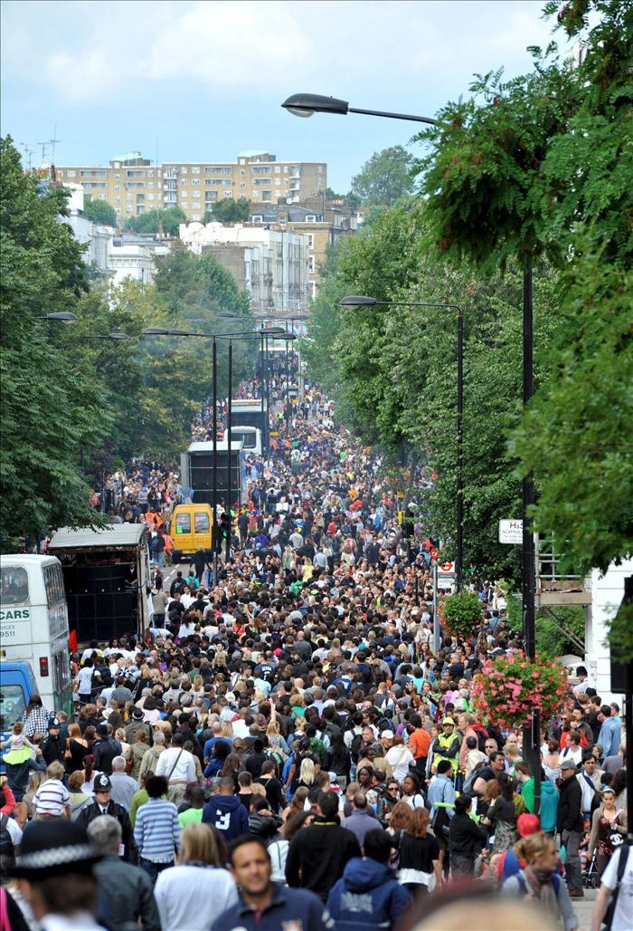 Detenidas 88 personas hasta la fecha en el carnaval de Notting Hill