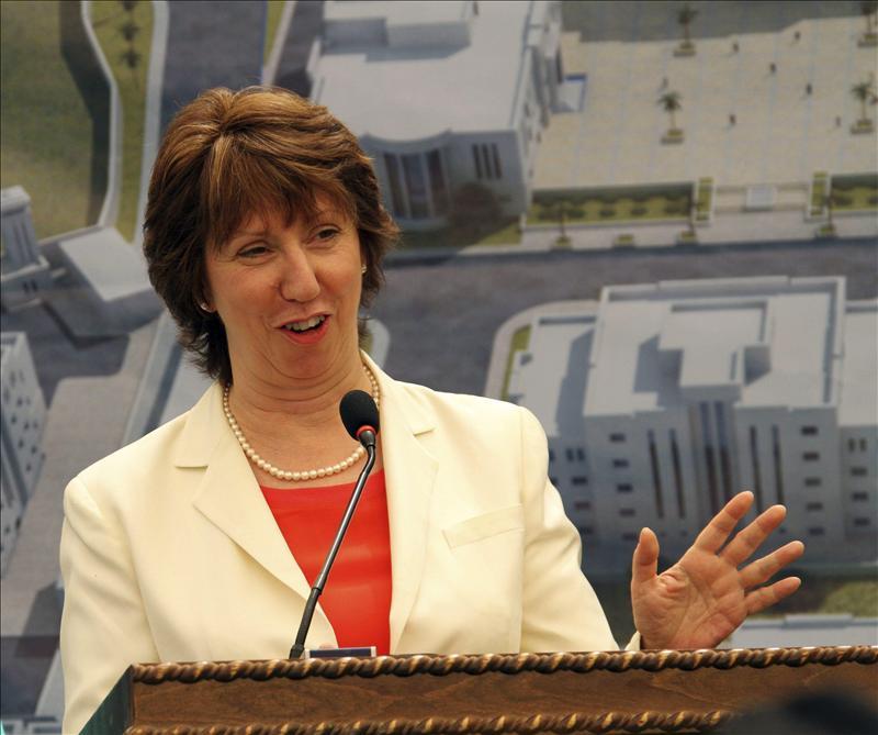 Ashton pide el cese inmediato de los ataques y la represión en Siria