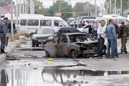 Ocho muertos en triple atentado terrorista en Chechenia