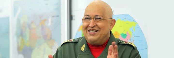 """Hugo Chávez: """"Aquí estoy, pues, en la batalla"""""""