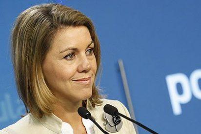 """María Dolores de Cospedal: """"Barreda se gastó en seis meses el 80% de su presupuesto"""""""