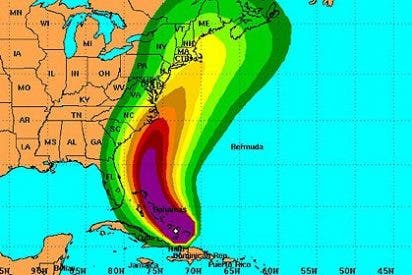 """La ciudad de Nueva York 'echa el cierre' asustada ante la llegada del huracán """"Irene"""""""