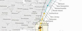 Nueva York ordena evacuar a 250.000 personas por el paso del huracán 'Irene'