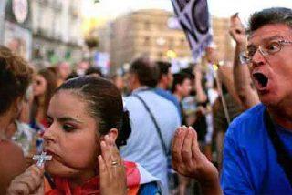 Los anti-Papa agreden a los católicos del JMJ en la Puerta del Sol y la Policía no actúa