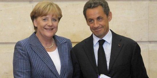 """Merkel y Sarkozy exigen un """"verdadero Gobierno"""" en la zona euro"""
