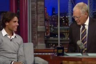 Video: Nadal cautiva a los norteamericanos en el show de David Letterman
