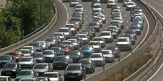 Las carreteras que sufrirán más atascos en la 'Operación Retorno'